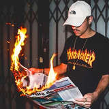 Thrasher Magazine 火焰Logo T恤