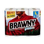Brawny 加大卷厨房用纸6卷