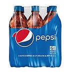 百事可乐500ml*6瓶