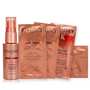 Kerastase: Travel-Size Anti-Frizz Spray & 4 Hair Care Samples With Orders of $85