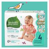 Amazon: Seventh Generation 婴儿纸尿裤等6折优惠