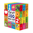 First 100 Board Book Box Set - 3 Books