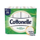 Cottonelle Ultra GentleCare Toilet Paper 48 Double Rolls