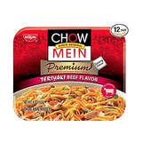 Nissin Chow Mein Premium Teriyaki Beef - 12pk