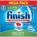 Finish 洗碗機專用多效合一洗滌塊-94個