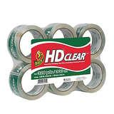 Duck HD Clear Heavy Duty Packaging Tape Refill - 6 Rolls