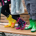 Amazon: Save 25% on Toddler & Kids Rain Boots by Rainbow Daze