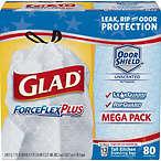 Glad ForceFlexPlus 垃圾袋-80