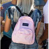 JanSport Half Pint Mini Backpack, Pink Mist