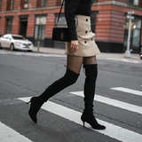 Stuart Weitzman Tiemodel Over-the-Knee Stretch Boot