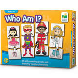The Learning Journey Match It! - Who Am I? - Self-Correcting Matching Puzzle Set
