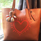 COACH Women's Keith Haring Hudson Leather Tote