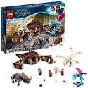 LEGO乐高 哈利波特系列 纽特的魔法生物手提箱