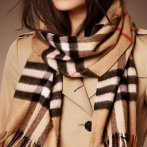 Jomashop: BURBERRY Cashmere Scarf for only $299.00
