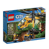 LEGO City Jungle Explorers Jungle Cargo Helicopter 60158 Building Kit
