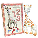 Sophie La Girafe - Giraffe Teether and Book Set