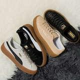 PUMA Women's Suede Core Platform Sneakers