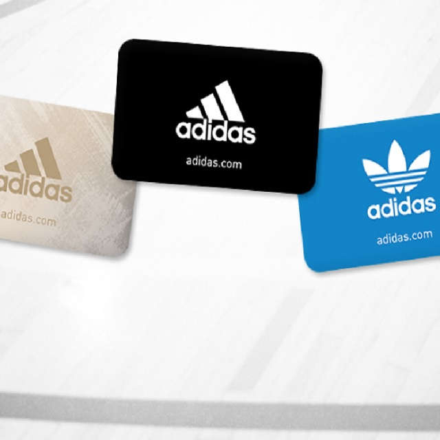 sports shoes e6dec 92ee7 adidas Gift Card Sale  Buy  50 get  10