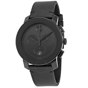MOVADO Bold Chronograph Black Dial Men's Watch