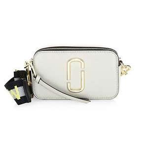 Marc Jacobs Snapshot Leather Crossbody Bag
