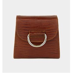 LITTLE LIFFNER TINY BOX D Bag_Cognac