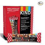 黑巧克力腰果能量棒 12个