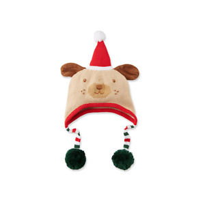 Zubels Kids' Santa Dog Knit Hat
