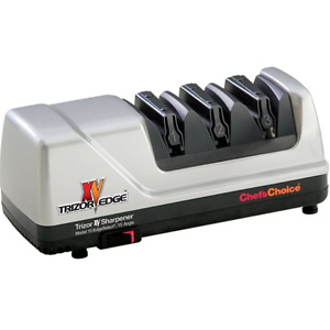 Edgecraft Chef'sChoice 101500 15 XV Trizor Professional Electric Knife Sharpener, Platinum