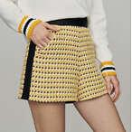 Tweed-style shorts
