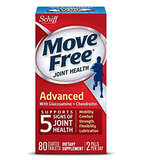 Move Free 维骨力 红瓶80粒