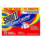 Shout Color Catcher Dye Trapping Sheets, 72.0 Count