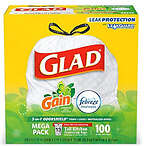 Glad Tall Kitchen 垃圾袋 13gallon 100ct