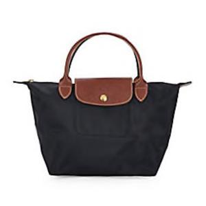 Longchamp Small Le Pliage Nylon Top Handle Bag