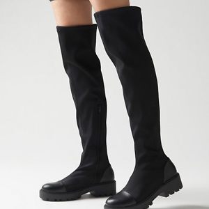 UO Charlie Neoprene Over-The-Knee Boot