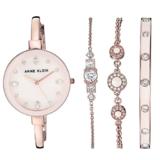 Anne Klein Women's AK/3352 Swarovski Crystal Accented Bangle Watch and Bracelet Set $71.28,free shipping