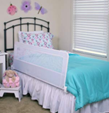 Regalo 加长儿童床侧安全护栏,白色