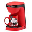 Disney Mickey Mouse 1-Cup Coffee Maker with Mug $18.79