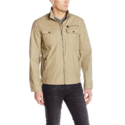 Levi's Men's Two Pocket Washed Cotton Military Jacket $31.26,FREE Shipping