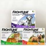 Frontline Plus 宠物体外驱虫剂促销热卖