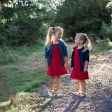 Hanna Andersson 女童连衣裙 有秋冬款针织裙