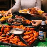 TGI Fridays 家庭拼盘优惠 盘大量足 看球、聚餐、开派对必备