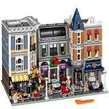 巅峰之作!乐高街景十周年!LEGO乐高 Creator创意街景 10255 经典建筑 城市广场