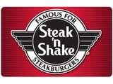 Steak 'n Shake $25餐厅礼卡限时热卖