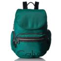 Calvin Klein 水鸭绿双肩包