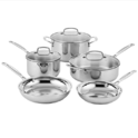 Cuisinart Classic Stainless Steel Cookware Set (8-Piece) $79.99,free shipping