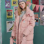 ROLAROLA 粉色羽绒服
