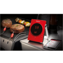 GrillEye Smart Bluetooth Grilling & Smoking Thermometer, Red $37.90,FREE Shipping