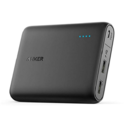 Anker PowerCore 13000 Portable Charger - Compact 13000mAh 2-Port Ultra Portable Phone Charger Power Bank with PowerIQ and VoltageBoost Technology for iPhone, iPad, Samsung Galaxy $24.99