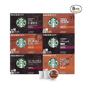 Starbucks Black Coffee K-Cup Variety Pack for Keurig Brewers, 10 Count ( Pack of 6 ) $38.75,free shipping