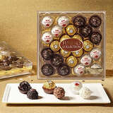 Ferrero Rocher Fine Hazelnut Milk Chocolates, 24 Count